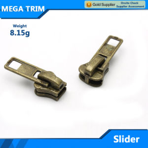 8.15g Garment Metal Zipper Slider Wholesale pictures & photos