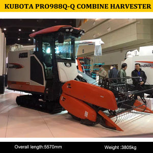 China Kubota 988q-Q Combine Harvester for Sale, Hot Sale Combine Harvester 988q-Q with Air Condition pictures & photos