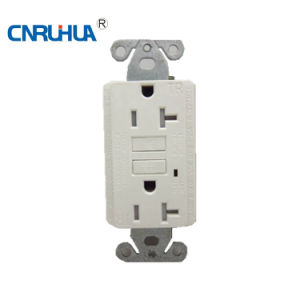 Hot Sales White Receptacle Socket pictures & photos