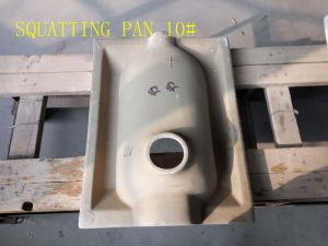 Ceramic Washdow Squatting Pan 10# Withour S-Trap pictures & photos