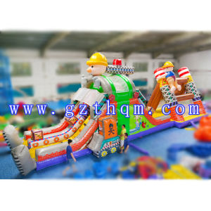 Inflatable Gold Miner Amusement Game in Fun City Inflatable Crazy Miner for Game Center Park for Kids in Castle Game pictures & photos