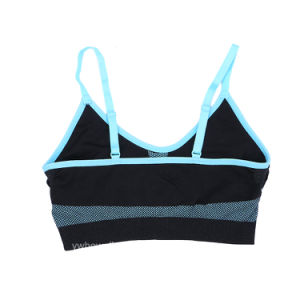 Women Running Gym Yoga Fitness Stretch Strap Sport Bra pictures & photos
