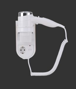 1600W High Power Plastic Hotel Hair Dryer/ Blow Dryer with Europe Plug pictures & photos