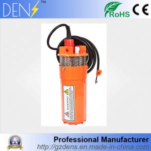 12/24V DC 360lph 230 Feet/ 70 Meters Lift Submersible Solar Water Pump pictures & photos