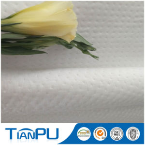Water Resistant 100% Polyester Spun Yarn Knitted Jacquard Fabric pictures & photos