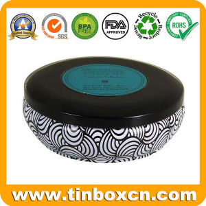 Round Tin Can for Candle, Metal Gift Tin Box pictures & photos