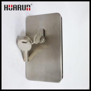 Zinc Alloy Glass Door Lock with Wall HR-1130C/HR-1130B pictures & photos