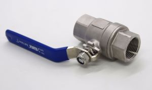 Stainless Steel DIN 2PC Ball Valve pictures & photos