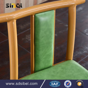 2017 Hot Sale Factory Direct Stackable Rubber Wood Cross Back Chair, Wooden X Back Dining Chair Design with Rattan/Yj-110 pictures & photos