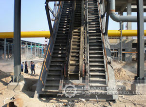 Large Angle Belt Conveyor for Building Materials pictures & photos