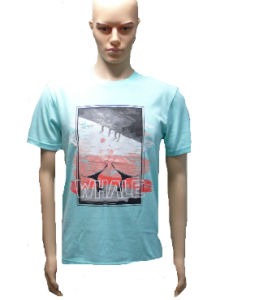 Cotton T Shirt Cheap Short Sleeves pictures & photos