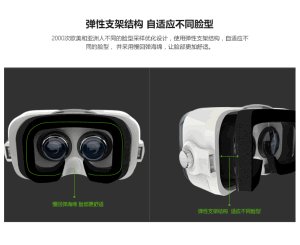 Bobo Vr Z4 for 3D Game, 3D Movie Aspheric Optical Lens Bobo Z4 Vr Box pictures & photos