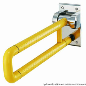 Nylon Folding up Handicap Toilet Grab Bars pictures & photos