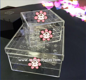 Clear Acrylic Waterproof Flower Gift Box pictures & photos