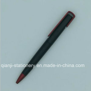 Black Plastic Ball Point Pen for Promotion (P2017B) pictures & photos