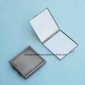 Square Double Side Pocket Makeup Mirror Metal Mirror BPS0216 pictures & photos