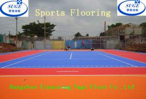 Africa Client Choose Outdoor Basketball Use Sports Flooring pictures & photos
