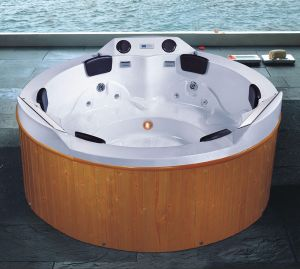 Dia 2200mm Round Outdoor SPA 6 People (AT-9004) pictures & photos
