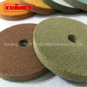 "5"" Wet Polishing Pads Granite Marble Stone Diamond Resin pictures & photos"
