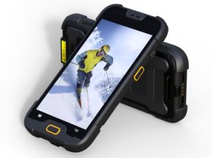 Rugged Smartphone Waterproof IP67 Industrial Handheld Terminal with 1d/2D Barcode Qr Code Scanner Data Collector. pictures & photos