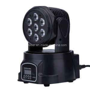 Mini 7*10 RGBW LED Moving Head Light LED Stage Light Disco Party Lighting pictures & photos