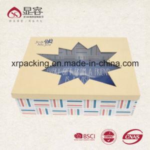 Custom Luxury Kraft Corrugated Cardboard Paper Gift Packaging Box with Logo Print