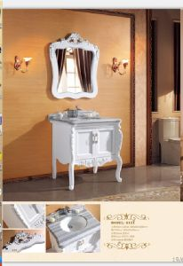 Sanitary Ware Bathroom Cabinet with European Archaize Series (6121) pictures & photos