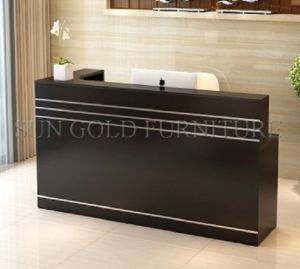 Fashion Design Office Front Desk for Reception Area (SZ-RTT005) pictures & photos