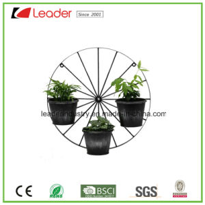 Decorative Powder Coated Metal Bicycle Flowerpots for Home and Garden Decoration pictures & photos