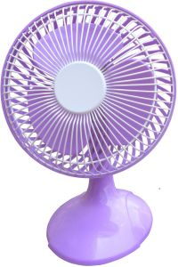 6 Inch Table Fan, Mini Fan with Different Colors pictures & photos