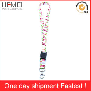 Polyester Lanyard with Logo Printing pictures & photos