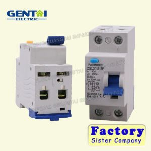 Good Quality RCBO Residual Current Circuit Breaker Zgl21m-2p pictures & photos