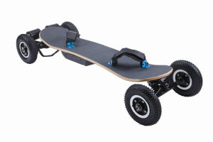 1650W*2 Dual Belt Motor off Road Four Wheels Electric Skateboard pictures & photos