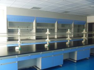 C-Frame Wood and Steel Side Lab Bench (JH-WF013) pictures & photos