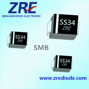 3A Schottky Barrier Rectifier Diode Ss32 Thru Ss320 SMB-Do/214AA Package pictures & photos