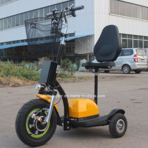 Ce Electrical Scooter Motorcycle 500W for Disabled Ginger Roadpet pictures & photos