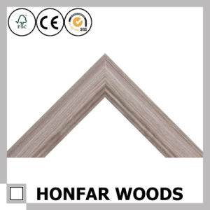French Wood Mirror Frame Pine Wood for Indoor Decoration pictures & photos