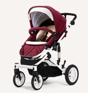 New Design Aluminum Frame Baby Pram with En1888 Approved pictures & photos
