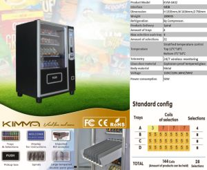 8 Cargo Roads, 32 Selections at Max Small Vending Machine for Gym Support NFC Payment pictures & photos