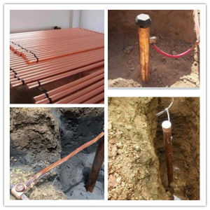 Pure Copper Chemical Earth Rod pictures & photos