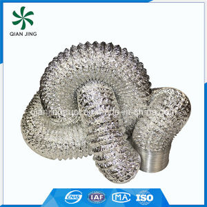 Double Layers Aluminum Flexible Duct for HVAC System pictures & photos