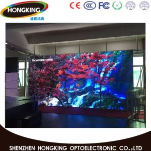 Indoor P7.62 High Resolution Video LED Display for Rental Display pictures & photos