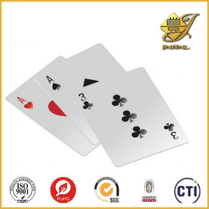 Glossy White PVC Sheet for Playing Card Printing pictures & photos