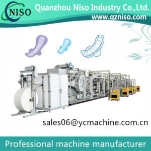 500PCS/Min Sanitary Napkins Machine for U by Kotex Cleanwear Ultra Thin Women Napkins pictures & photos