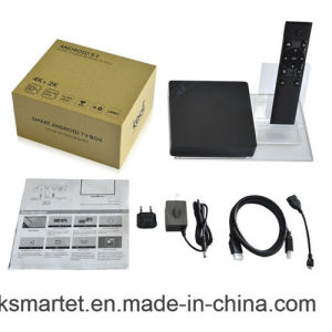 4k WiFi I68 Hot Smart Android TV Box with Free Channels pictures & photos