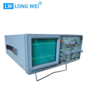 L212 DC 20MHz Double Channel Analog Oscilloscope pictures & photos