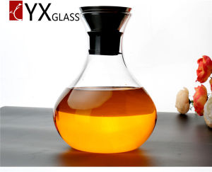1L 1.4L Clear Glass Water Jug Glass Water Pitcher Cold Water Pitcher Fruit Juice Pot of Cold Water Pot pictures & photos