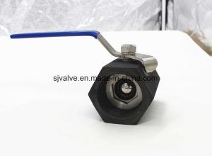 3000psi High Pressure 1PC Carbon Hexagon Ball Valve pictures & photos