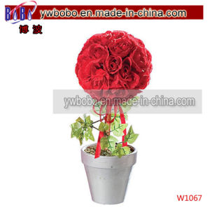 Wedding Rose Crystal Artificial Bridal Bouquet Bridesmaid Wedding Decor (W1059) pictures & photos