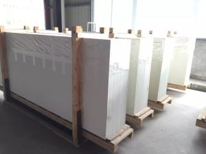 White Big Slabs Nano Crystalized Stone pictures & photos